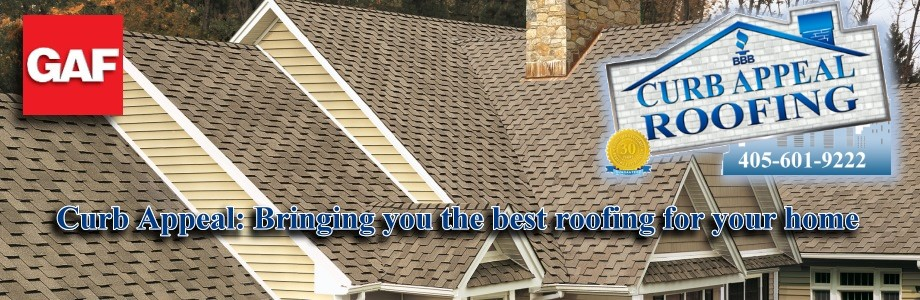 Curb Appeal Roofing Construction for Certified Licensed Residential Roofing in Oklahoma
