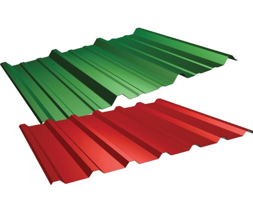 Commercial and Industrial Metal roofing products