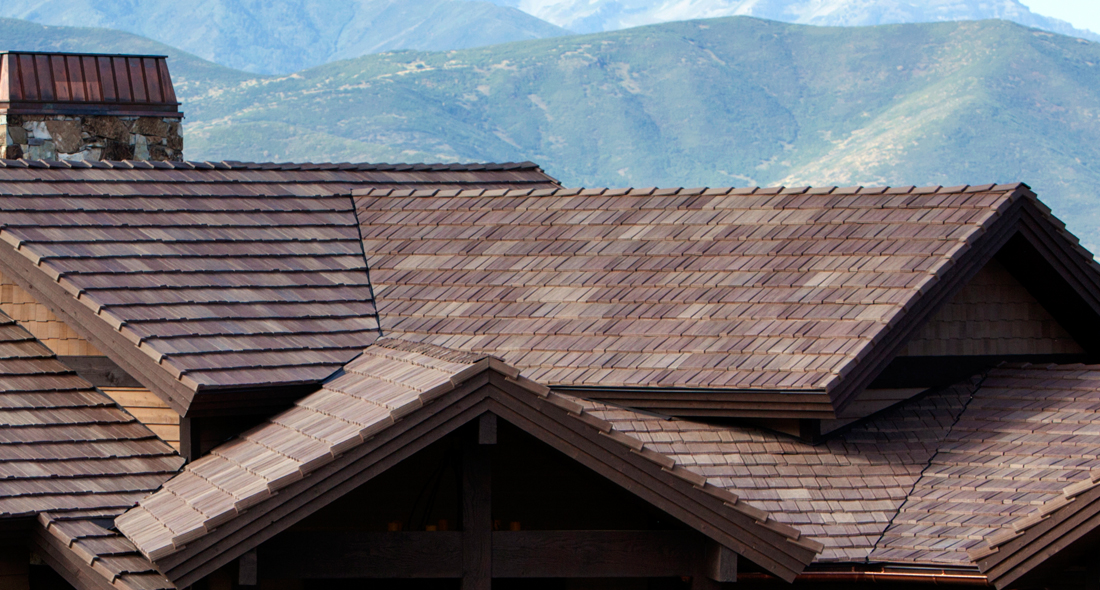 Curb Appeal Roofing Construction can roof your home or business with cedar look synthetic shingles that are impact and wind resistant - Perfect for Oklahoma