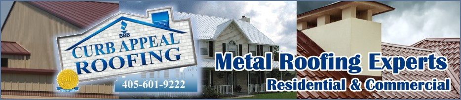 Curb Appeal Construction is Expert at Replacing and Repairing Metal Roofs in Oklahoma