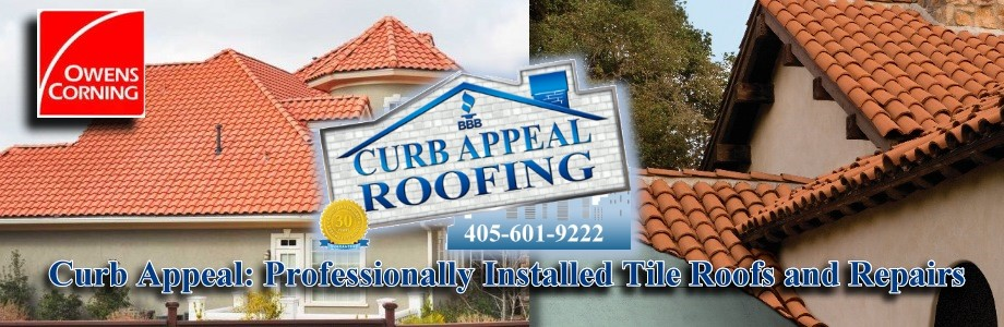 Curb Appeal Roofing Construction is Expert at Tile Roofs for Oklahoma.