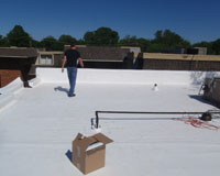 TPO Flat Roofing for Commercial Roofs